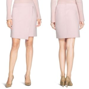 WHBM Asymmetrical Zip Mini Skirt Sz 2 EUC